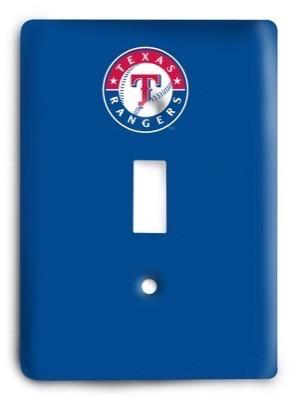 Texas Rangers 13 Light Switch Cover - Colorful Switches