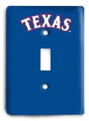 Texas Rangers 14 Light Switch Cover - Colorful Switches