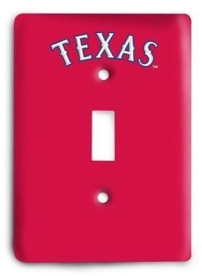 Texas Rangers 16 Light Switch Cover - Colorful Switches