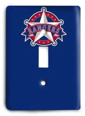 Texas Rangers 18 Light Switch Cover - Colorful Switches