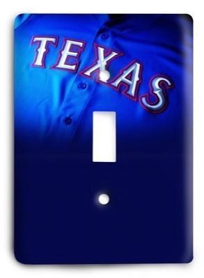 Texas Rangers 27 Light Switch Cover - Colorful Switches
