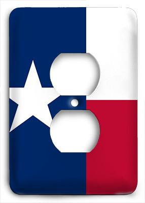 Texas State Outlet Cover - Colorful Switches
