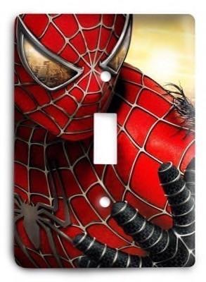 The Amazing Spiderman 09 Light Switch Cover - Colorful Switches