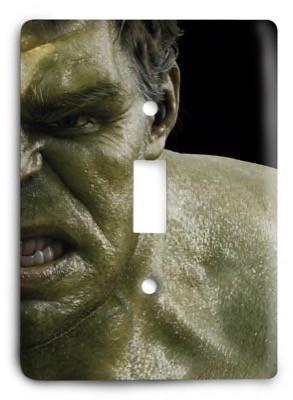 The Avengers - Hulk Light Switch Cover - Colorful Switches