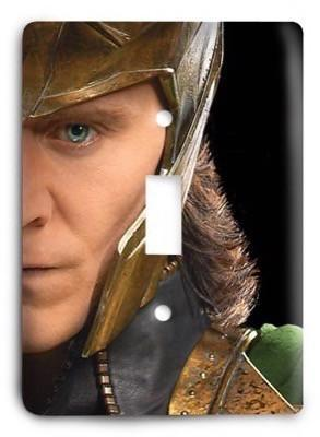 The Avengers - Loki Light Switch Cover - Colorful Switches