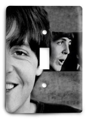 The Beatles Paul McCartney Light Switch Cover - Colorful Switches