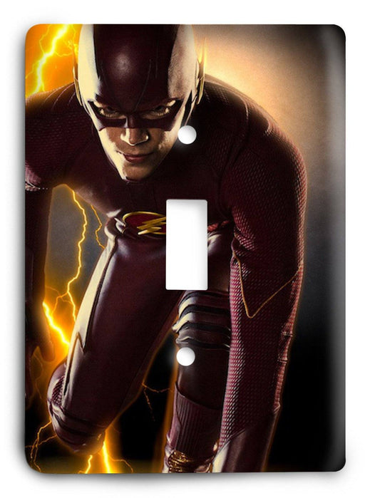 The Flash Speed Is All There Is v2 Light Switch Cover - Colorful Switches