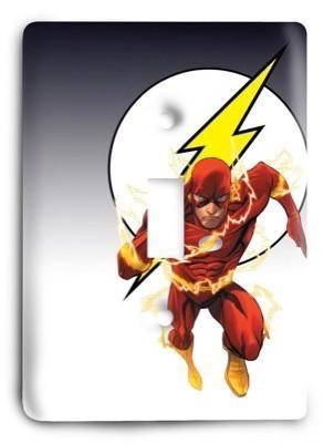 The Flash is Fast Light Switch Cover - Colorful Switches