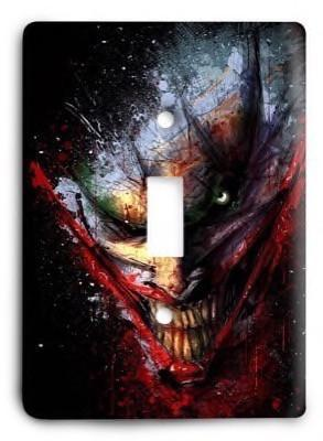 The Joker Batman G3 v1 Light Switch Cover - Colorful Switches