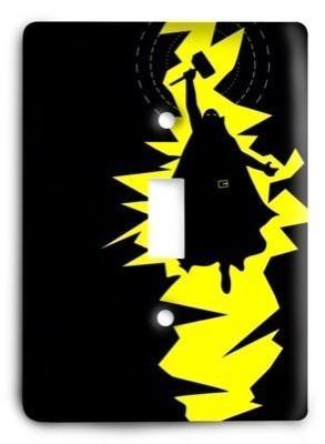 Thor Marvel Comics G3 v2 Light Switch Cover - Colorful Switches