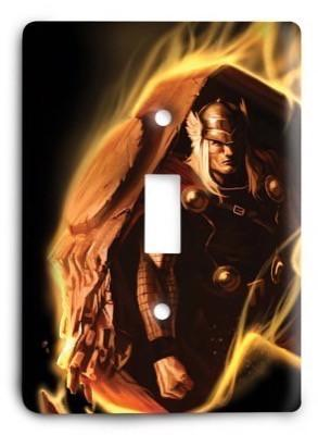 Thor Marvel Comics G3 v4 Light Switch Cover - Colorful Switches