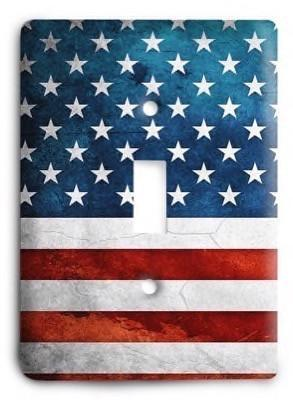 Usa Light Switch Cover - Colorful Switches