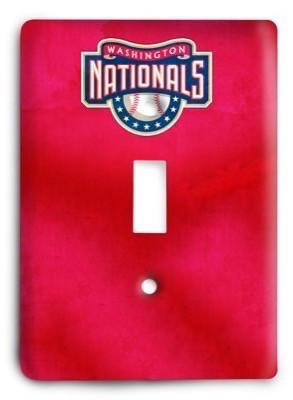 Washington Nationals MLB 01 Light Switch Cover - Colorful Switches