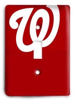 Washington Nationals MLB 02 Light Switch Cover - Colorful Switches