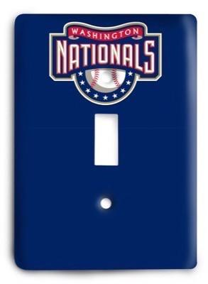 Washington Nationals MLB 06 Light Switch Cover - Colorful Switches