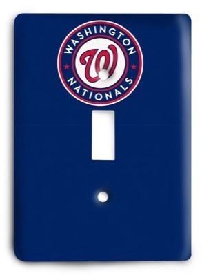 Washington Nationals MLB 08 Light Switch Cover - Colorful Switches