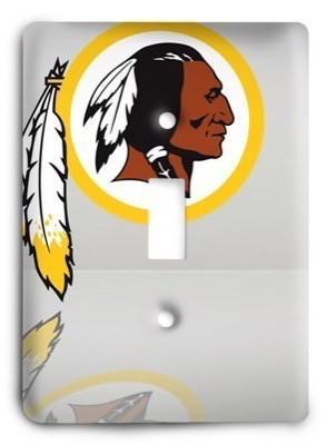 Washington Redskins NFL 13 Light Switch Cover - Colorful Switches