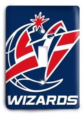 Washington Wizards NBA 09 Light Switch Cover - Colorful Switches
