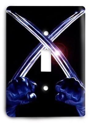 Wolverine X-Men G3 v1 Light Switch Cover - Colorful Switches
