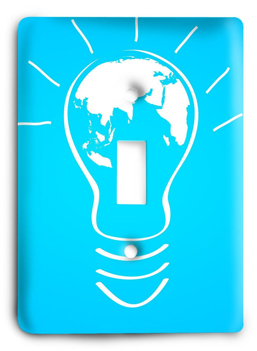 World of Ideas Light Switch Cover - Colorful Switches