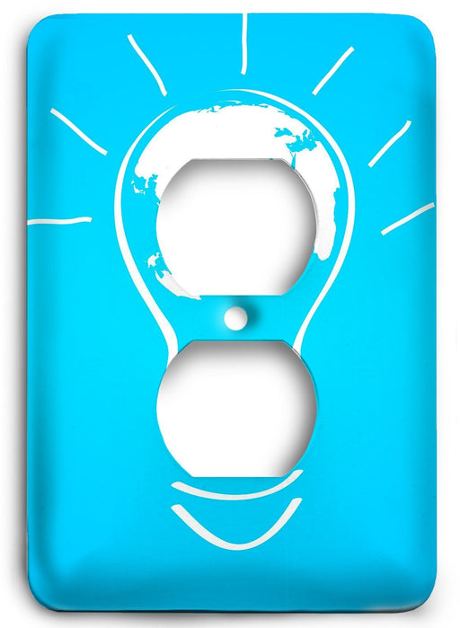 World of Ideas Outlet Cover - Colorful Switches