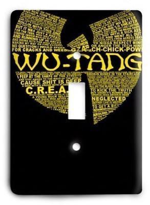 Wu Tang Clan v04 Light Switch Cover - Colorful Switches