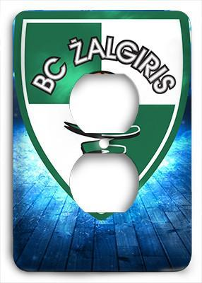 Zalgiris Kaunas Champions Outlet Cover - Colorful Switches
