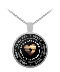 Father and Son Gifts - Inspirational Pendant Necklace- - Uncle Seal