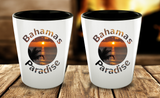 Bahamas Shot Glass - Memorable Sunset - Perfect Gift For Birthday, Christmass, Men, Women, Friend, Ideal For Kitchen. - Uncle Seal