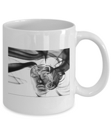 Abstract Woman Design - White Coffee Mug - Uncle Seal