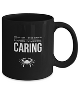 Zodiac Signs Coffee Mug Black - Cancer - Uncle Seal
