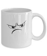 Mad Smiley - Funny Coffee Mug Design White - Uncle Seal