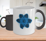 Nuclear Atom Design - Coffee Mug Color Changing - Uncle Seal