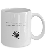 Zodiac Signs designs Coffee Mug - Leo - Uncle Seal