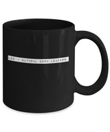 Zodiac Signs Coffee Mug - Leo design Black - Uncle Seal