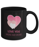 Love you more and more - Coffee Mug Black - Uncle Seal
