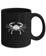 Zodiac Signs Coffee Mug Cancer - The Crab - Uncle Seal