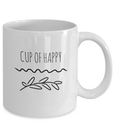 Happy Coffee Mug - Great Gift for Men, Women, Mom or Dad, Sister, and Brother - Uncle Seal