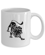 Zodiac Signs Coffee Mug - Leo - Uncle Seal