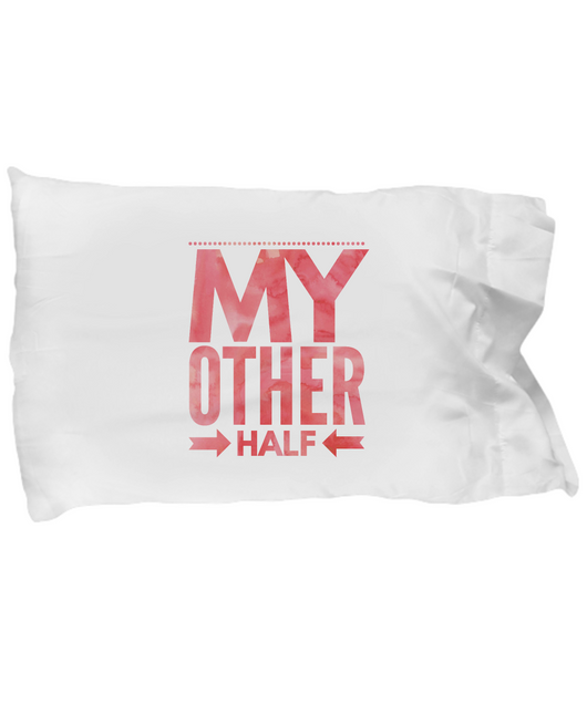 My Other Half - Pillow Case Design - Uncle Seal