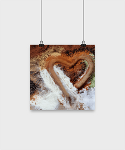 Love Colors Abstract - Poster - Uncle Seal