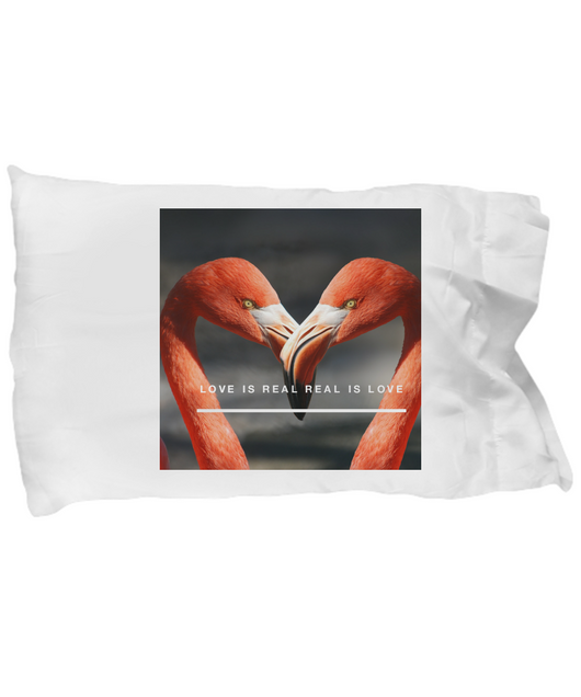 Love is real - Pillow Case - Uncle Seal