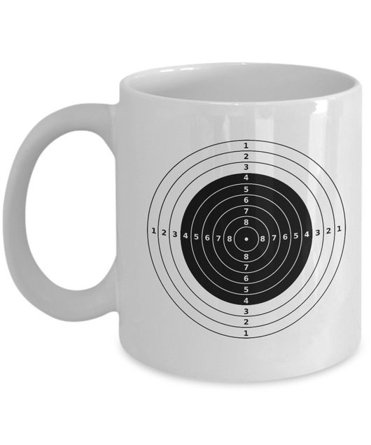 Bulls-eye Target - Coffee mug - Uncle Seal