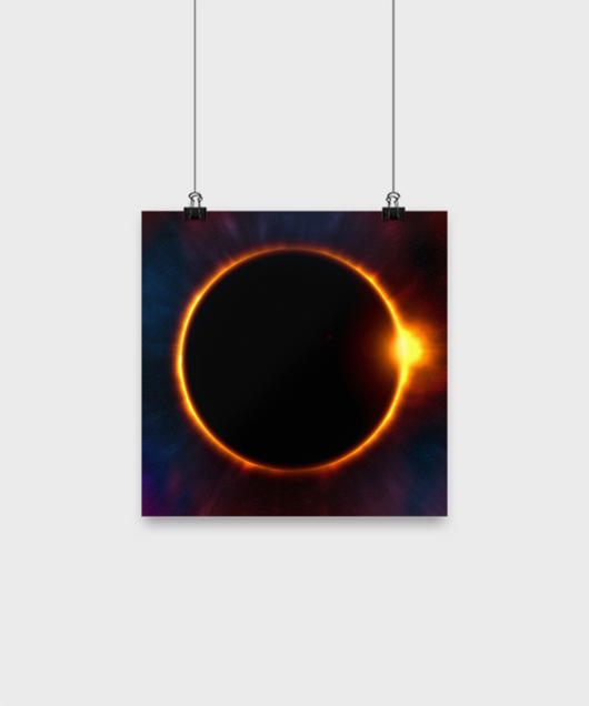 Total Eclipse Poster - Uncle Seal