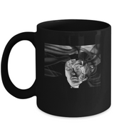 Abstract Woman Design - Black Coffee Mug - Uncle Seal