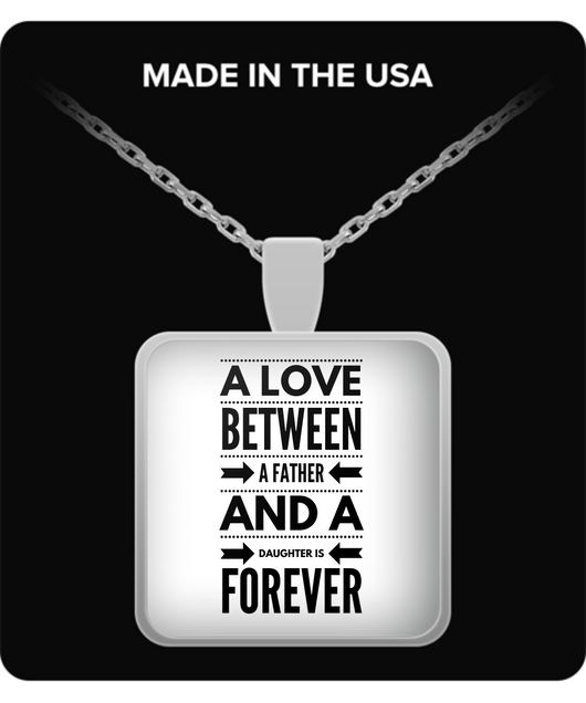Love between father and daughter - Necklace - Uncle Seal