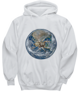 Spider dominates the world - White Hoodie - Uncle Seal
