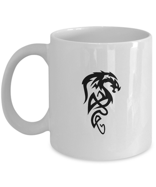 Black dragon Tattoo - Coffee Mug - Uncle Seal