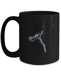 Abstract Smoke - Coffee Mug 15oz - Uncle Seal