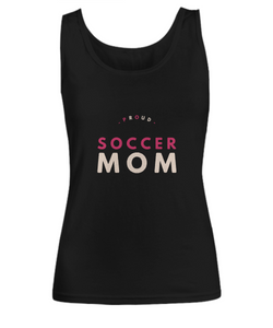 Proud Soccer Mom - Woman Tank - Uncle Seal